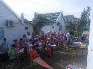 Соборна молитва на таборах молоді й родин